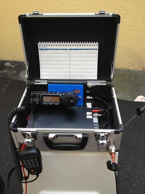 Picture showing a Portable Rig Suitecase