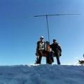 14km/9mi walk – 3 summits, 2 OMs, 1 dipole